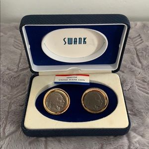 NEW Indian Head Nickel Cuff Links (Real Coins)